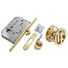 Комплект для раздвижных дверей Morelli MHS-1 WC SG Цвет - Матовое золото