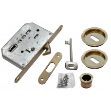 Комплект для раздвижных дверей Morelli MHS-1 L AB Цвет - Античная бронза