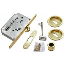 Комплект для раздвижных дверей Morelli MHS-1 L SG Цвет - Матовое золото