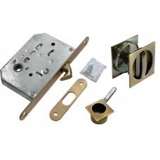 Комплект для раздвижных дверей Morelli MHS-2 WC AB Цвет - Античная бронза