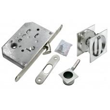Комплект для раздвижных дверей Morelli MHS-2 WC SC Цвет - Матовый хром