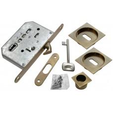Комплект для раздвижных дверей Morelli MHS-2 L AB Цвет - Античная бронза