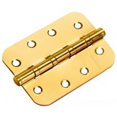Петля Morelli стальная универсальная скругленная MS-C 100X70X2.5-4BB SG Цвет - Матовое золото