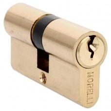 Ключевой цилиндр Morelli ключ/ключ (60 мм) 60C PG Цвет - Золото