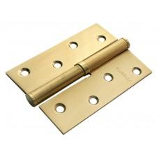 Петля Morelli стальная разъёмная MSD 100X70X2.5 SG L Цвет - Матовое золото