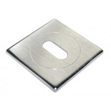 Накладки на ключевой цилиндр Morelli Luxury LUX-FK-S CSA Цвет - Матовый хром