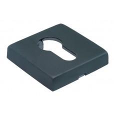 Накладки на ключевой цилиндр Morelli Luxury LUX-KH-Q BLACK Цвет - Матовая черная бронза
