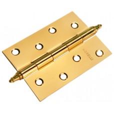 Петля Morelli стальная универсальная с короной MS 100X70X2.5-U PG Цвет - Золото